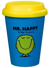 Mr Men: Mr Happy Travel Mug - 300ml