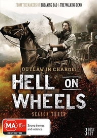 Hell On Wheels - Season Three (3DVD) on DVD