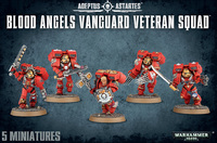 Warhammer 40,000 Blood Angels Vanguard Veterans