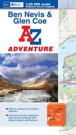 Ben Navis & Glen Coe Adventure Atlas by Geographers A-Z Map Co Ltd