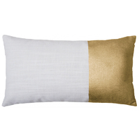 Bambury Block Cushion Cover (Gold)