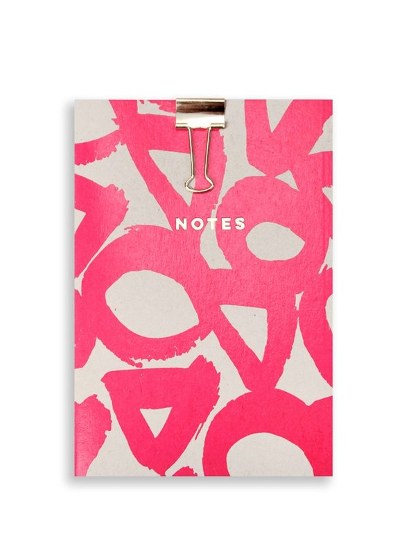 Nineteen Seventy Three: Pink Tri Circle - A5 Notepad