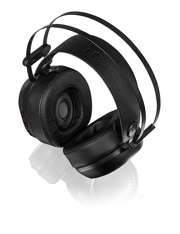 ThermalTake Shock Pro RGB Analog Stereo Gaming Headset for PC Games image