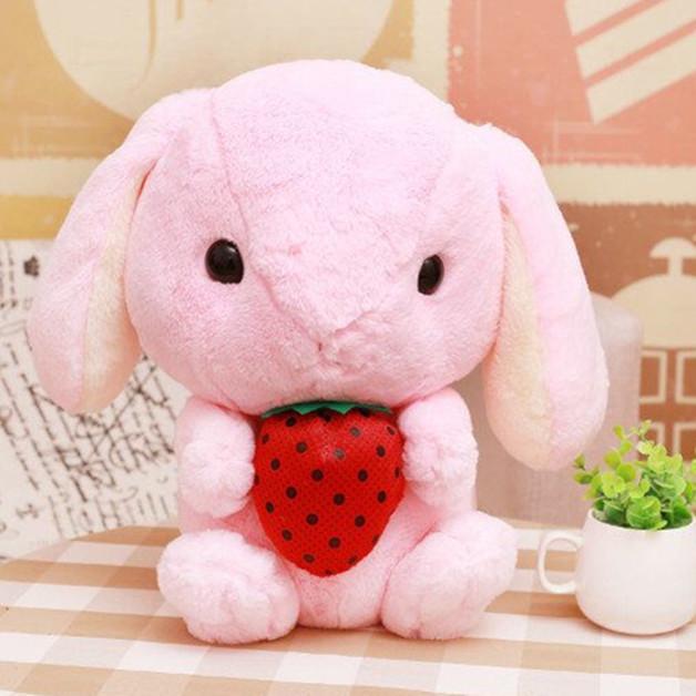 Long Ears Bunny - Pink (32cm)