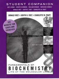 Fundamentals of Biochemistry: Student Companion: WITH Take Note! by Donald Voet image
