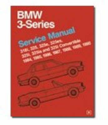 BMW 3 Series Service Manual 1984-90 image