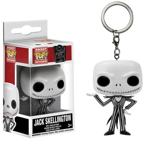 Nightmare Before Christmas: Jack Skellington Pocket Pop! Keychain