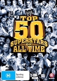 WWE: Top 50 Superstars Of All Time on DVD