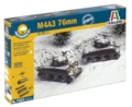 Italeri: 1/72 M4 A3 76mm - Fast Assembly Kit