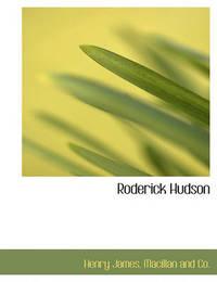 Roderick Hudson by Henry James Jr