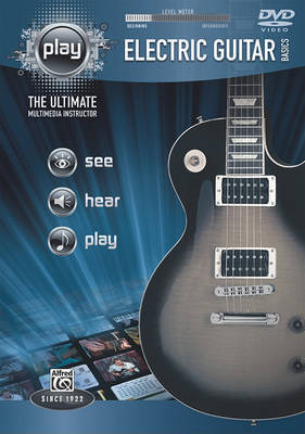 Alfred's Play Electric Guitar Basics: The Ultimate Multimedia Instructor, DVD by Alfred Publishing