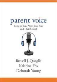 Parent Voice by Russell J Quaglia image