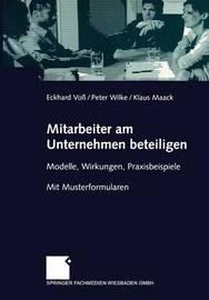 Mitarbeiter Am Unternehmen Beteiligen by Eckhard Voss