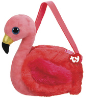 Ty Gear: Gilda Flamingo - Plush Purse