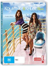 Kourtney & Khloe Take Miami - Season 2 on DVD