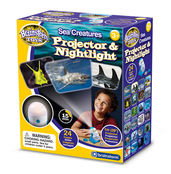 Brainstorm Toys: Sea Creatures Projector & Nightlight