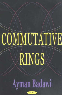 Commutative Rings image
