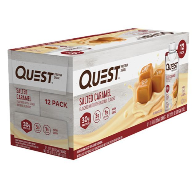 Quest Nutrition: Protein Shake - Salted Caramel (Box of 12)