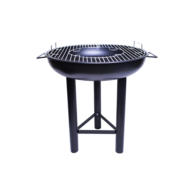 """21"""" 2-in-1 Round Firebowl Charcoal BBQ & Fire Pit"""