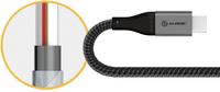 1.5m Alogic Super Ultra USB-C 2.0 5A Cable Space Grey