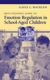 Practitioner's Guide to Emotion Regulation in School-Aged Children by Gayle L Macklem
