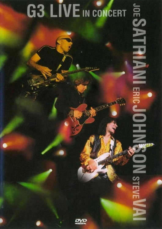 G3 - Live In Concert on DVD