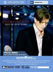 Peter Cincotti: Live in New York on DVD