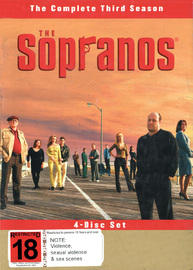 The Sopranos - The Complete Third Season on DVD image