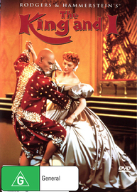 The King and I on DVD image
