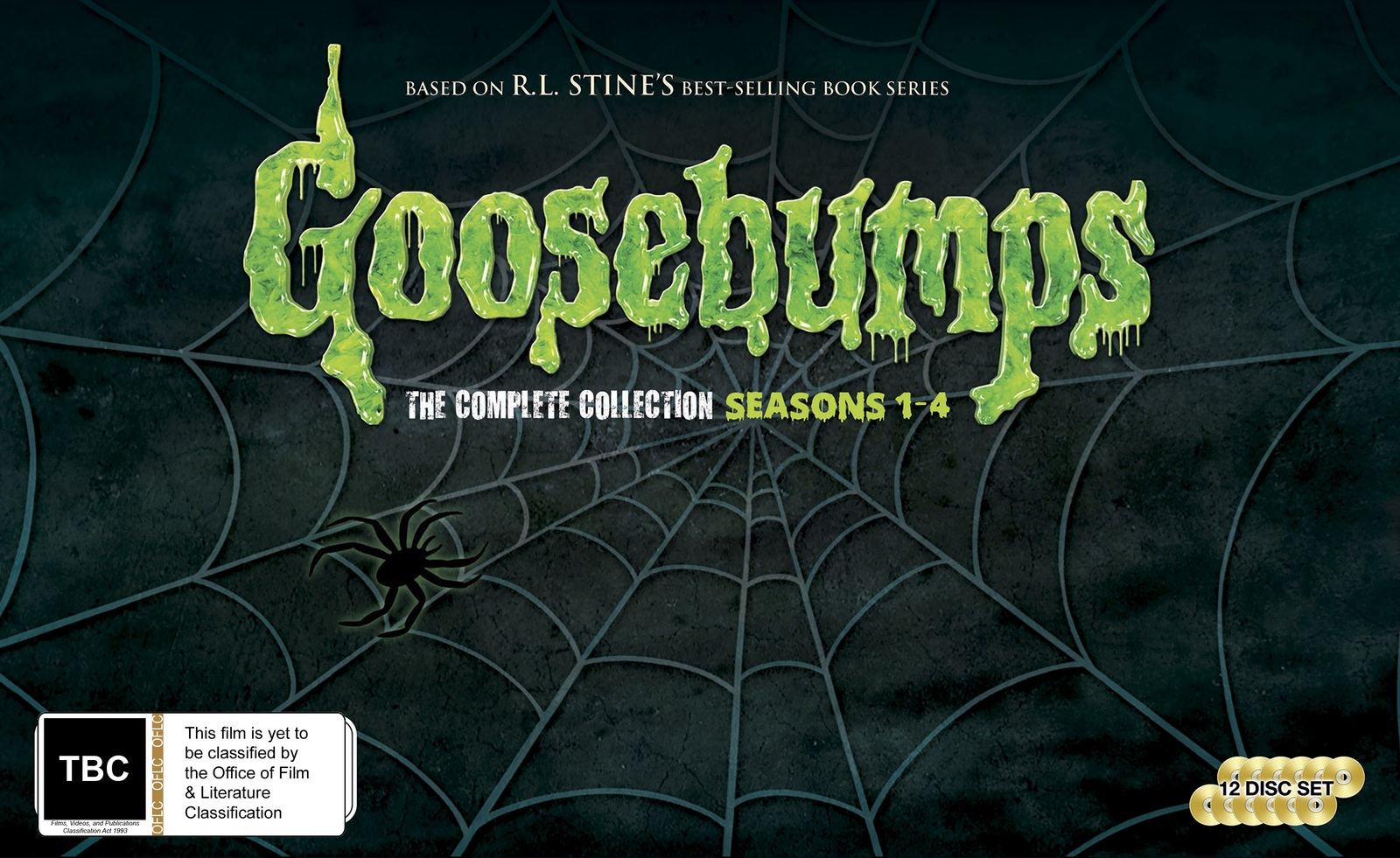 Goosebumps Complete Collection (New Packaging) on DVD image