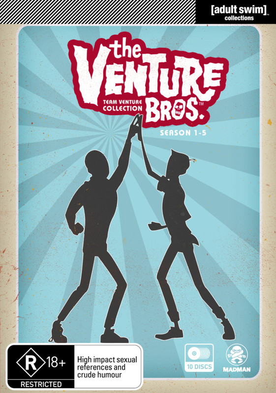 The Venture Bros. - Team Venture Collection - (S1-5) on DVD