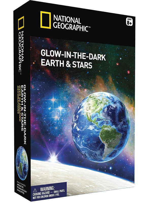 National Geographic: Glow in the Dark Earth & Stars - Science Kit