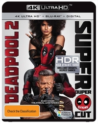 Deadpool 2 on UHD Blu-ray, DC