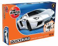 Airfix Quickbuild Lamborghini Aventador White - Model Kit image