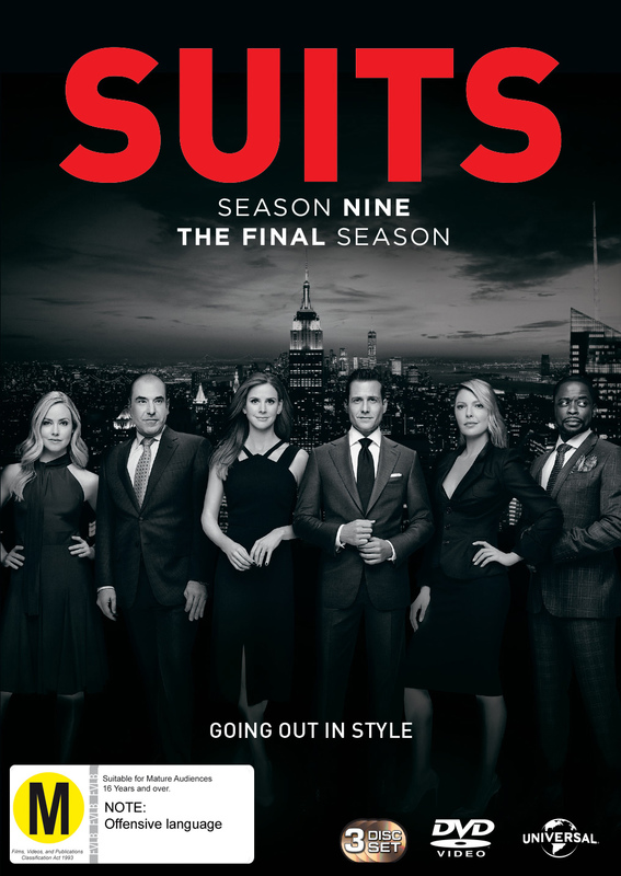 Suits Season 9 on DVD
