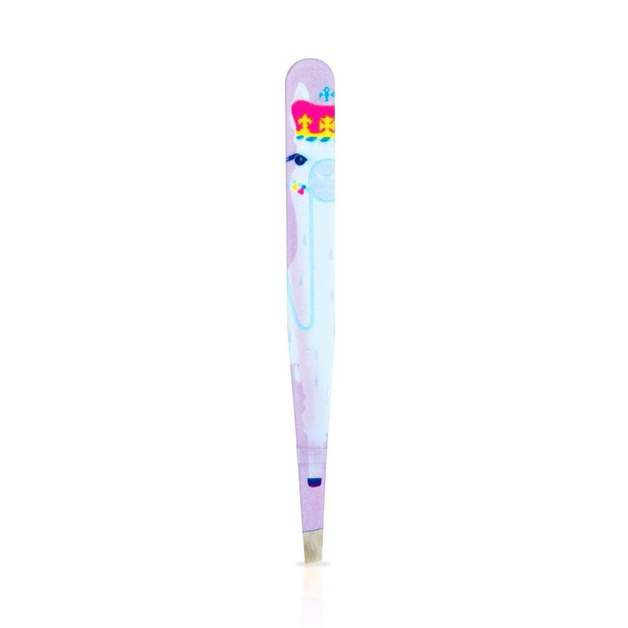 Mad Beauty: Llama Queen Tweezers - Purple