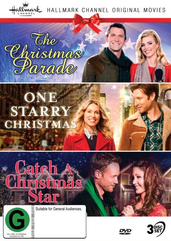 Hallmark Christmas Collection 7: The Christmas Parade / One Starry Christmas / Catch A Christmas Star on DVD