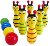 Fun Factory: Bowling Animals - Bee image