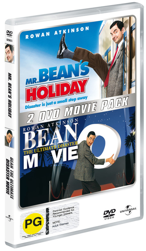 Mr Bean Double Pack (Mr Bean's Holiday / Bean - The Ultimate Disaster Movie) (2 Disc Set) on DVD
