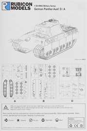 Rubicon 1/56 Panther Ausf D/A