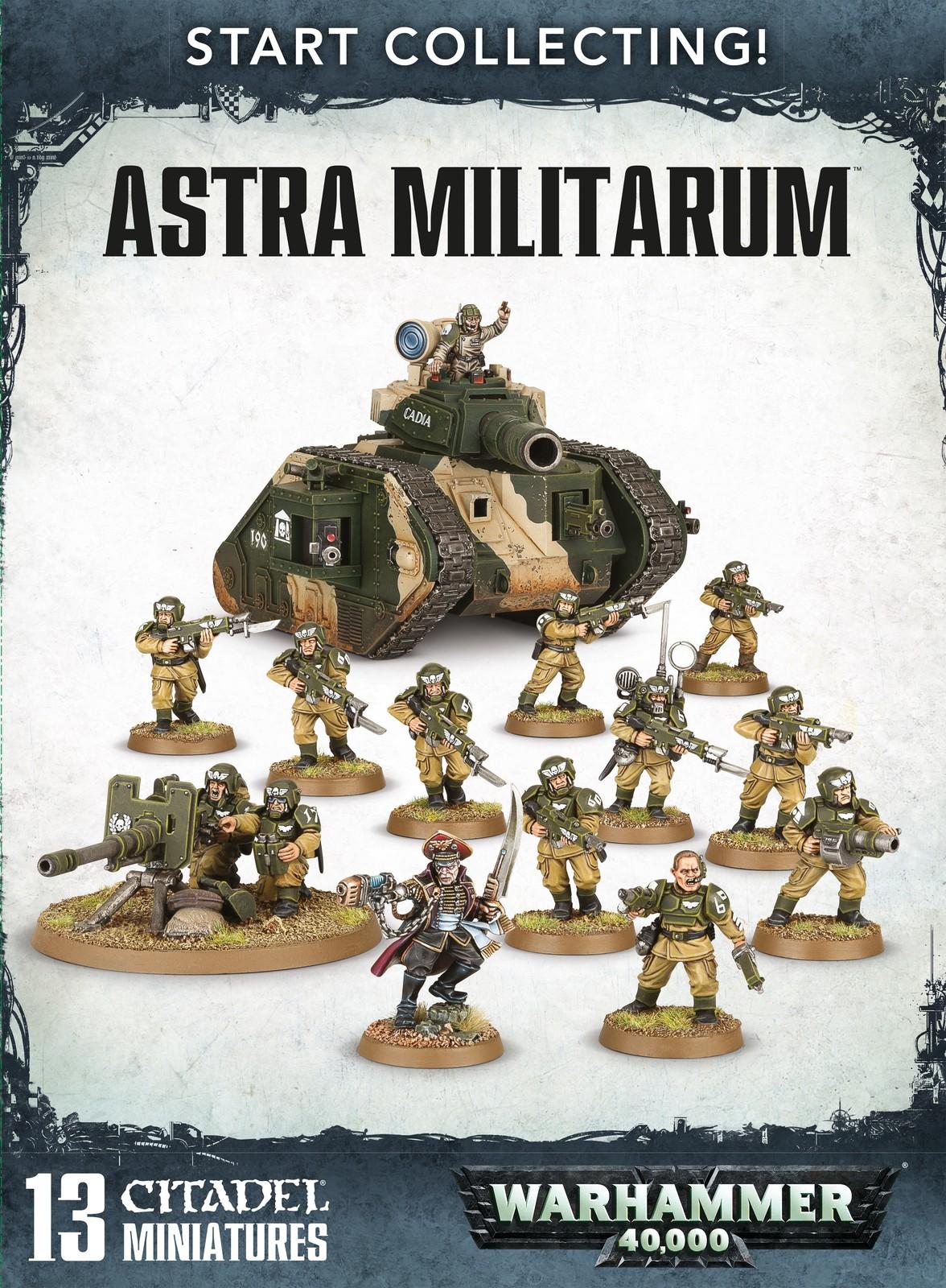 Start Collecting: Astra Militarum image