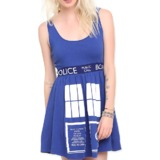 Doctor Who TARDIS Dress Slimfit (X-Large)