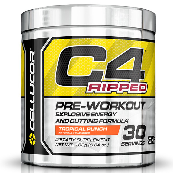 Cellucor C4 Ripped Pre-Workout - Tropical Punch (30 Servings) image