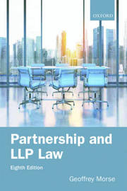 Partnership and LLP Law 8e by Geoffrey Morse