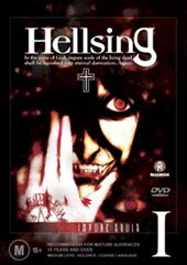 Hellsing - I on DVD