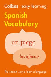Easy Learning Spanish Vocabulary by Collins Dictionaries image
