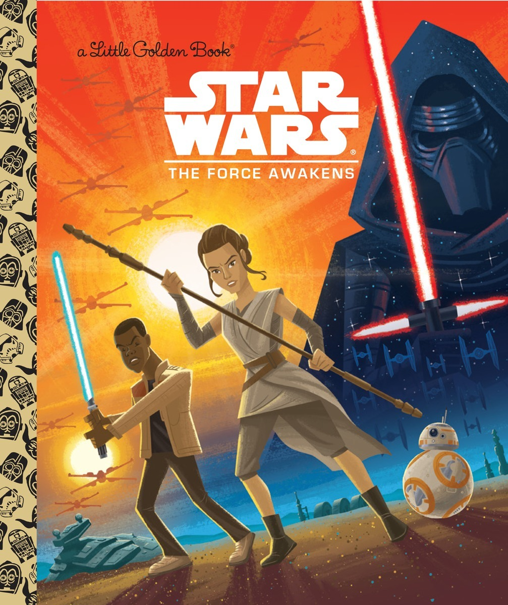 Star Wars: The Force Awakens by Golden Books image
