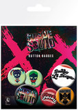 Suicide Squad: Lil Monster - Pin Badge Set