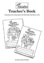 Jolly Phonics Teacher's Book (black & white edition) by Sara Wernham