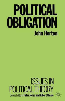 Political Obligation by John Horton image
